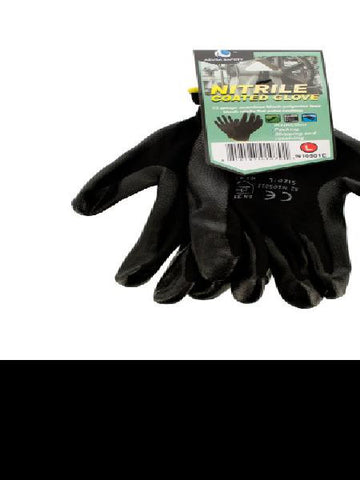 Nitrile Coated Gloves (Available in a pack of 12)