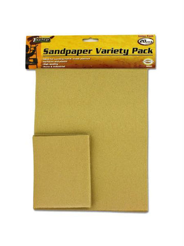 Sand Paper Variety Pack (Available in a pack of 30)