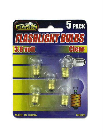 Flashlight Bulbs (Available in a pack of 24)