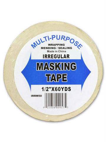60-yard role masking tape (Available in a pack of 24)