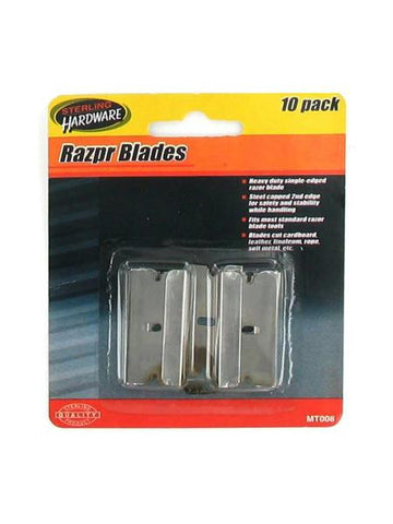 Razor Blades (Available in a pack of 24)