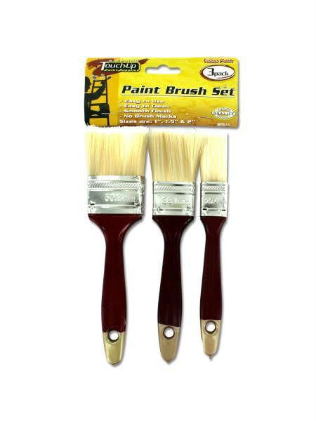 Deluxe Paint Brush Set (Available in a pack of 16)