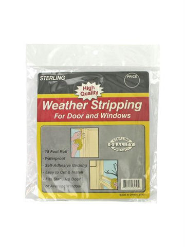 Foam Weather Stripping Tape (Available in a pack of 12)