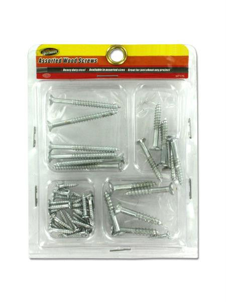 Assorted Wood Screws (Available in a pack of 24)