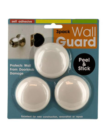 Self-Adhesive Doorknob Wall Guard Set (Available in a pack of 24)