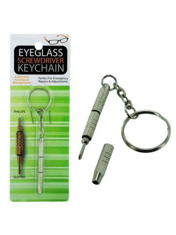 Eyeglass Screwdriver Key Chain (Available in a pack of 24)