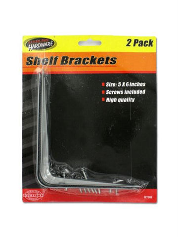 Shelf Brackets with Screws (Available in a pack of 24)