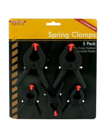 Spring Clamps (Available in a pack of 24)