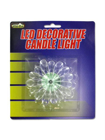 LED Decorative Candle Light (Available in a pack of 24)