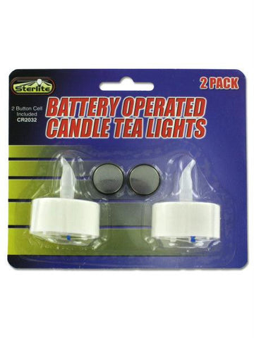 Decorative LED Tea Light Candles (Available in a pack of 24)