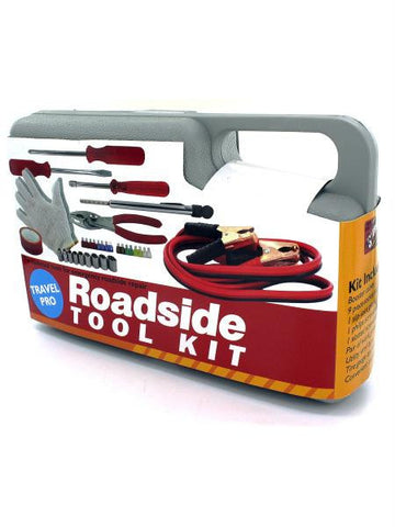 Emergency Roadside Tool Kit in Carrying Case (Available in a pack of 1)
