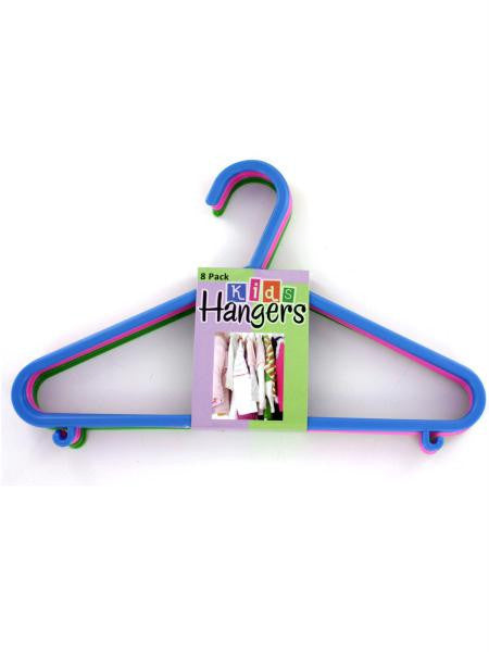 Plastic Kids Hangers (Available in a pack of 12)