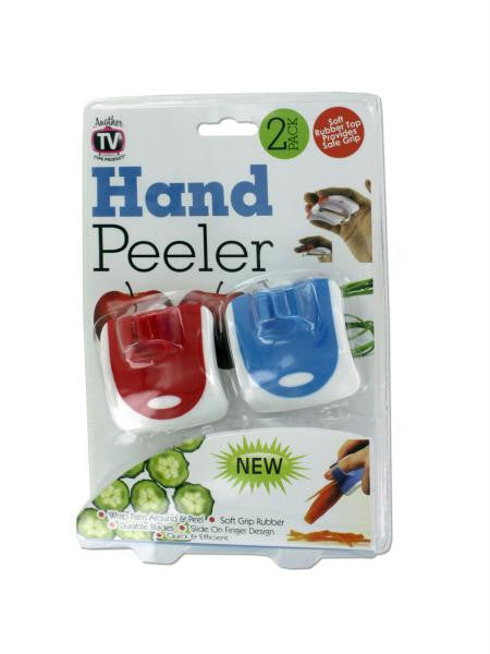 Wrap Around Hand Vegetable Peeler Set (Available in a pack of 4)