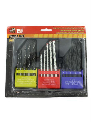Assorted Drill Bit Set (Available in a pack of 8)