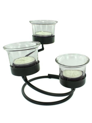 Spiral Decorative Candle Stand with Holders (Available in a pack of 4)