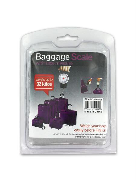 Luggage Scale with Tape Measure (Available in a pack of 6)