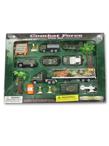 Combat force play set (Available in a pack of 4)