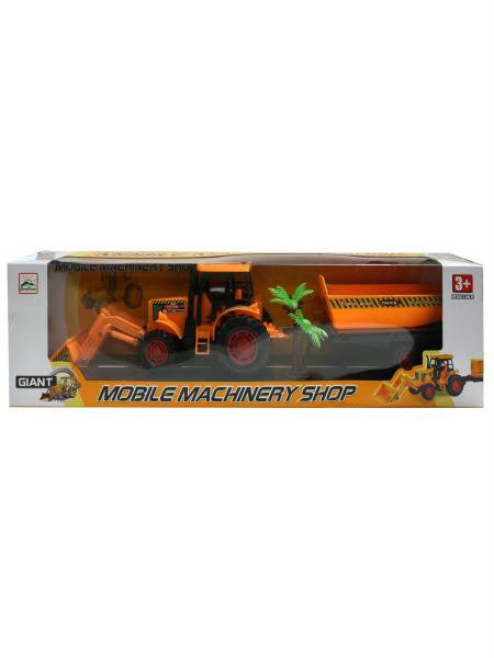 Toy Construction Vehicle with Trailer (Available in a pack of 4)