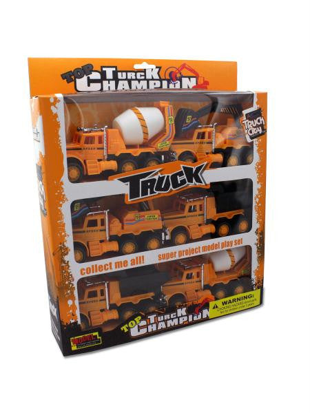 Friction Powered Construction Trucks (Available in a pack of 1)