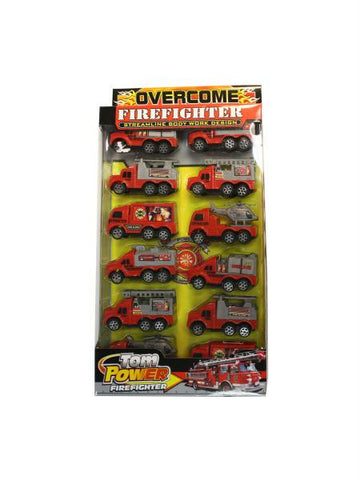 Friction Action Firetruck Set (Available in a pack of 3)