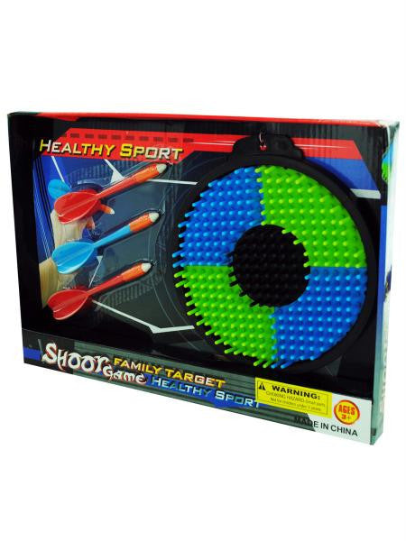 Plastic Toy Dartboard (Available in a pack of 4)