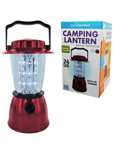 LED Hurricane Camping Lantern (Available in a pack of 1)