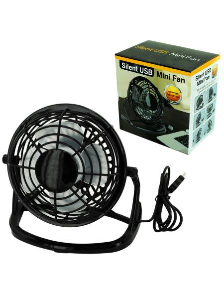 Silent USB Mini Fan (Available in a pack of 4)