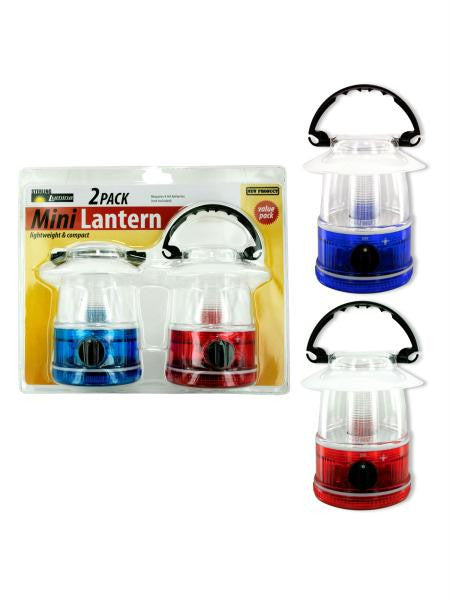 2 pack mini camp lantern (Available in a pack of 1)