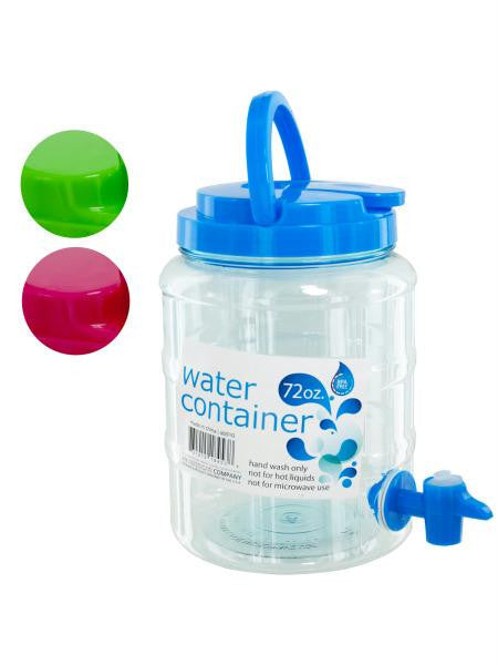 Water Container with Spigot & Handle (Available in a pack of 4)