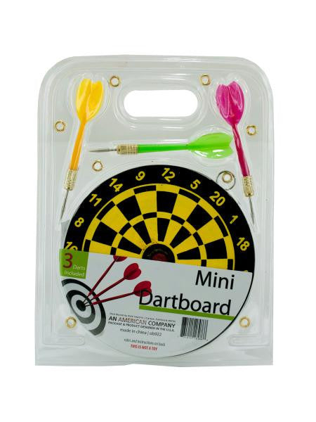 Mini Dartboard Set (Available in a pack of 12)