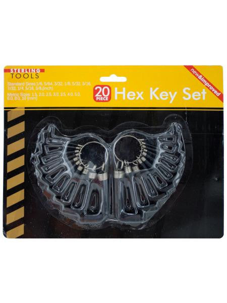 Hex Key Set (Available in a pack of 8)