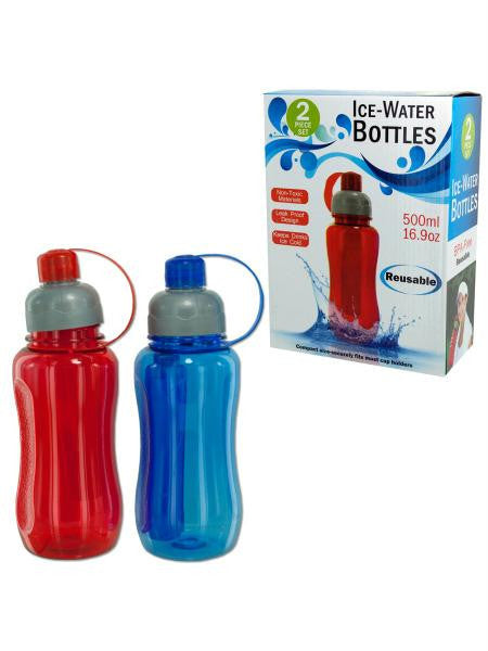 Ice Water Bottle Set (Available in a pack of 6)