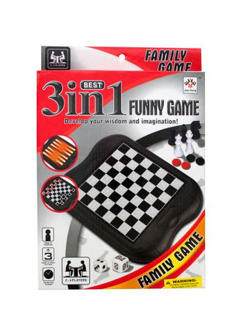 3-in-1 Classic Game Set (Available in a pack of 6)