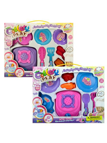Cooking Play Set (Available in a pack of 4)