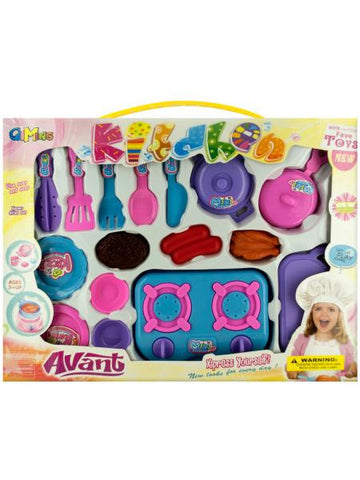 Deluxe Cooking Play Set (Available in a pack of 1)