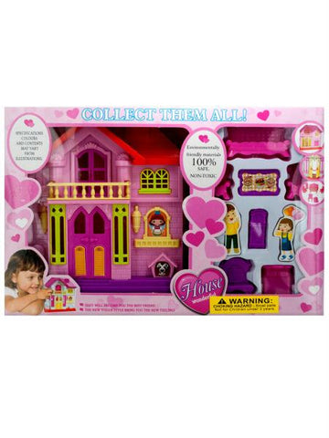 Mini Dream House Play Set (Available in a pack of 4)