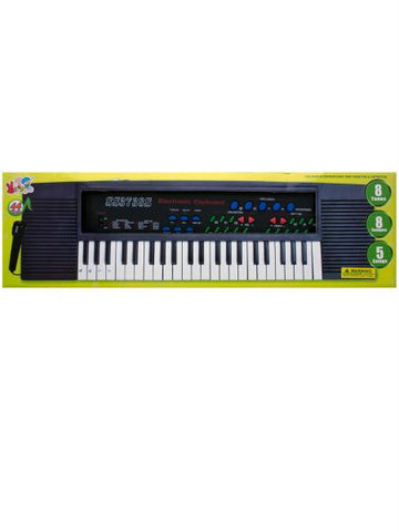 Electronic Keyboard with Microphone (Available in a pack of 1)