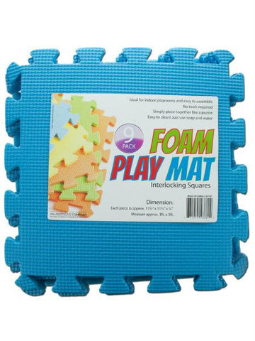 Interlocking Foam Play Mat (Available in a pack of 4)
