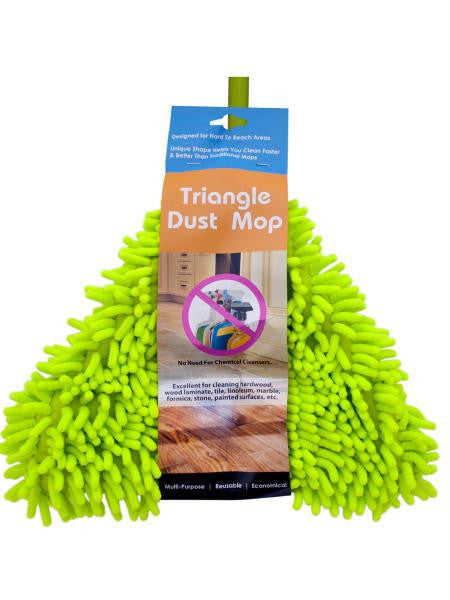 Triangle Dust Mop with Extendable Handle (Available in a pack of 1)