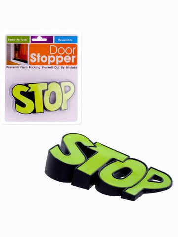 Word Graphic Door Stopper (Available in a pack of 12)