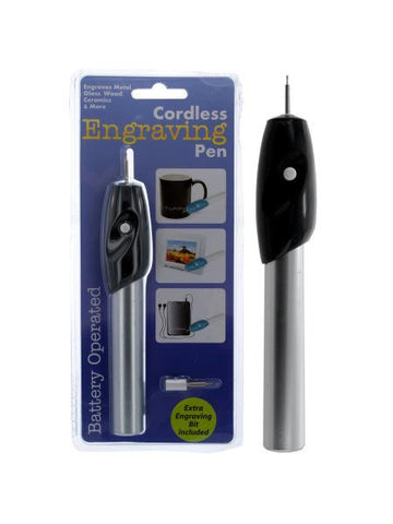 Cordless Engraving Pen (Available in a pack of 6)