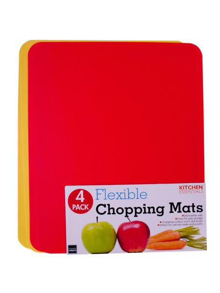 Flexible Chopping Mat Set (Available in a pack of 6)