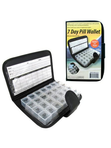 7 Day Pill Wallet (Available in a pack of 6)