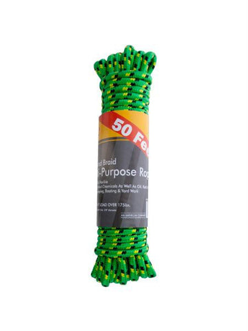 Diamond Braid Multi-Purpose Nylon Utility Rope (Available in a pack of 4)