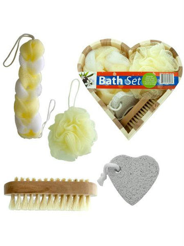 Heart Boxed Bath Gift Set (Available in a pack of 1)