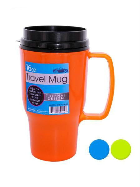 Thermal Travel Mug (Available in a pack of 12)