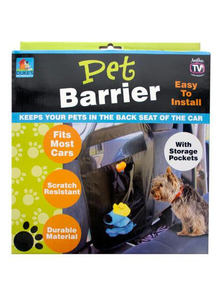 Auto Pet Barrier with Storage Pockets (Available in a pack of 4)
