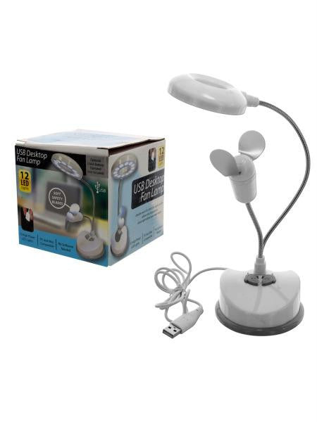 USB Desktop Fan Lamp (Available in a pack of 1)