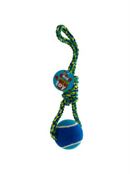 Jumbo Ball & Rope Dog Toy (Available in a pack of 4)