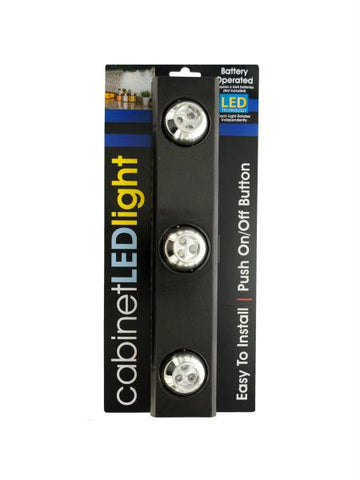 9-LED Under-Cabinet Light with Rotating Lights (Available in a pack of 1)